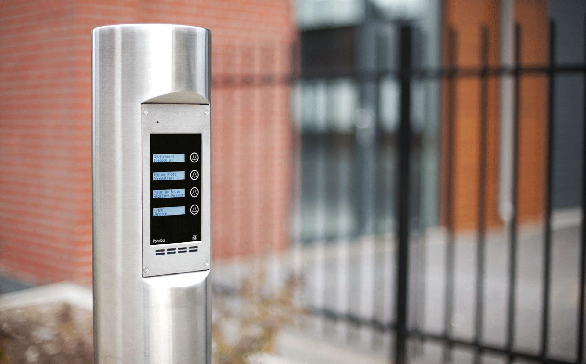 deurintercom series - Zuilintercom - PortaDial